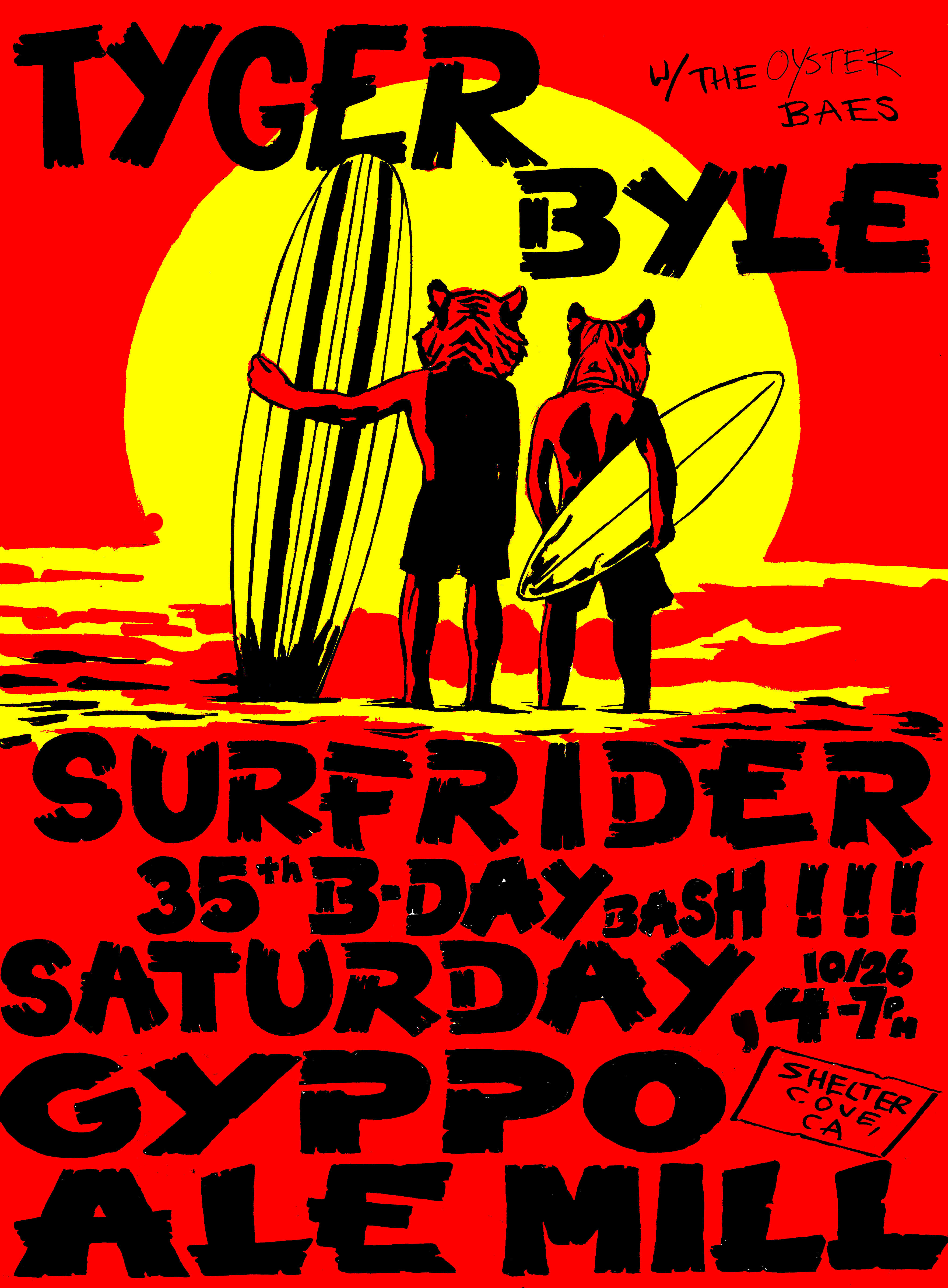 Surfrider 35th Birthday Bash